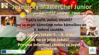 listopad 2019/ září 2020 Jesenický MasterChef Junior